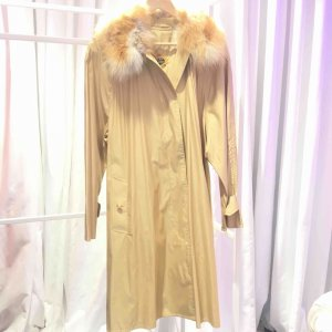 Gold Burberry Trench Coat