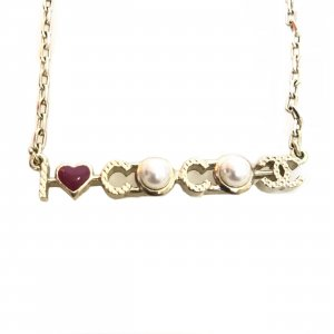 Gold Chanel Necklace