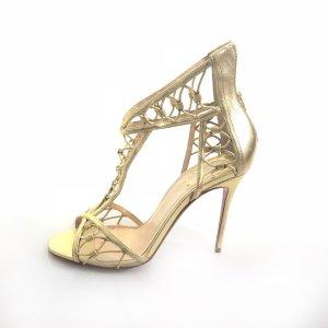 Gold Christian Louboutin High Heel