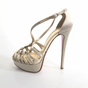 Gold Christian Louboutin High Heel