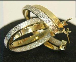 Gold Creolen 585 14k