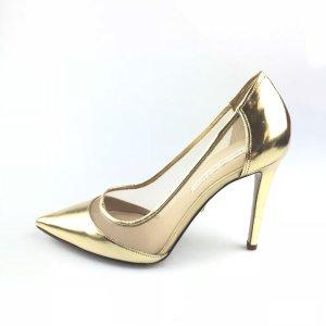 Gold Diane Von Furstenberg High Heel
