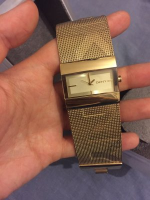 Gold DKNY watch for ladies