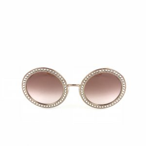 Gold Dolce & Gabbana Sunglasses