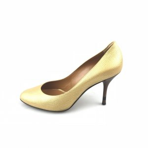 Fendi High-Heeled Sandals gold-colored