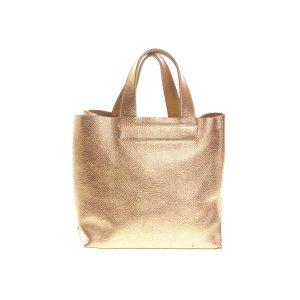 Gold Furla Shoulder Bag