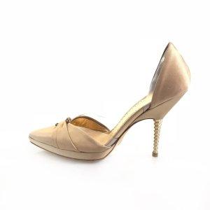 Gold Giorgio Armani High Heel