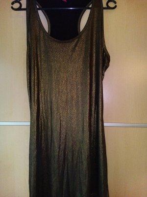 Gold- glänzendes Longshirt von edc Gr. L