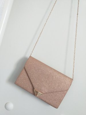 Gold glitzernde Clutch