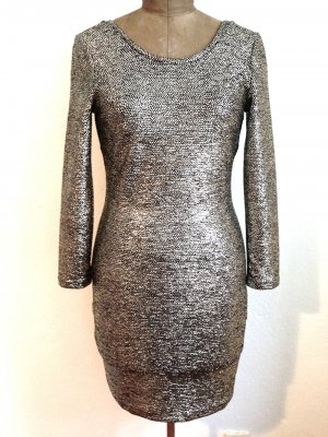 Gold glitzerndes Stretchkleid von &other stories, Gr. 40, ungetragen