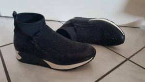 Slip-on Sneakers black synthetic fibre
