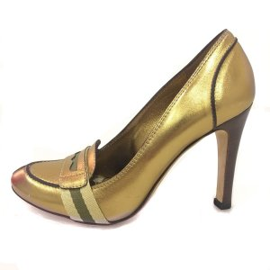 Gold Gucci High Heel