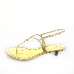 Gold Gucci Sandal