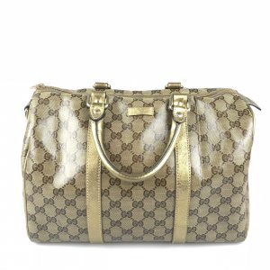 Gold Gucci Shoulder Bag