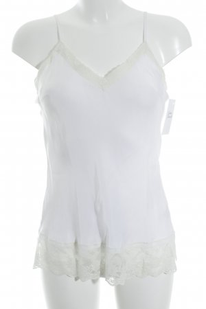 Gold Hawk Lace Top white-natural white lingerie style