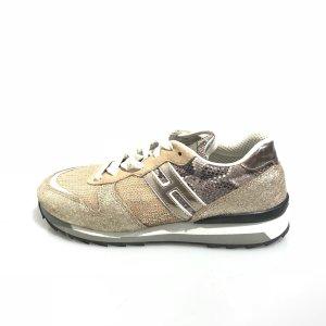 Gold Hogan Sneaker