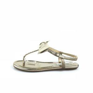 Gold Jimmy Choo Sandal