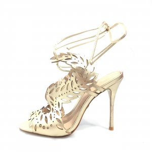 Gold Kurt Geiger High Heel