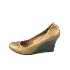 Gold Lanvin High Heel