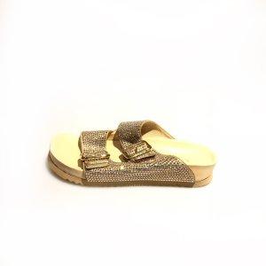 Gold Le Silla Flip Flop