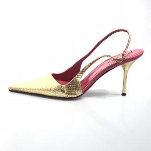 Gold Le Silla High Heel