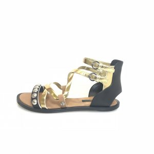 Gold Louis Vuitton Sandal