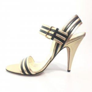 Gold Miu Miu High Heel