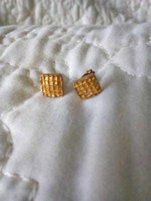 Gold Ohrstecker Stecker Ohrringe Schmuck Silber Echtschmuck vergoldet