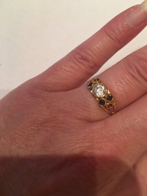 Gold Ring 18 Karat 750 er