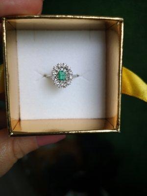 Gold Ring green
