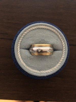 Gold Ring mit Diamanten