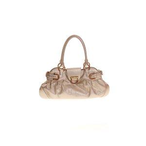 Gold Salvatore Ferragamo Shoulder Bag