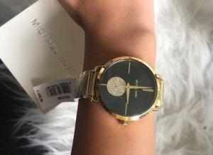 Gold/Schwarze Michael Kors Uhr