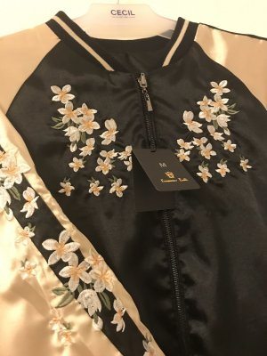 Jacket gold-colored-black