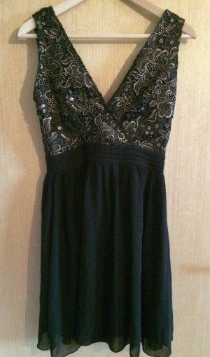 Gold-Schwarzes Kleid von Little Mistress