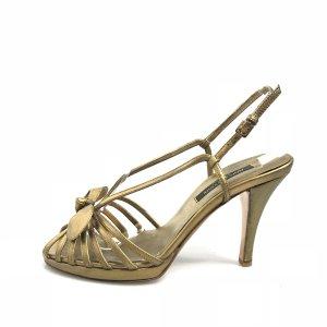 Gold Sergio Rossi High Heel