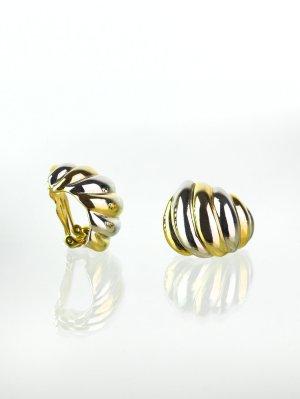 Gold- Silberfarbene Vintage Ohrclips