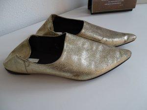 Gold Slipper von H&M