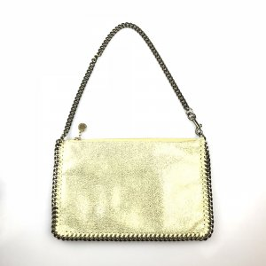 Gold Stella McCartney Shoulder Bag