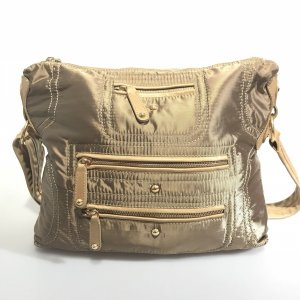 Gold Tod's Cross Body Bag