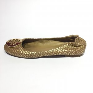 Gold Tory Burch Flat