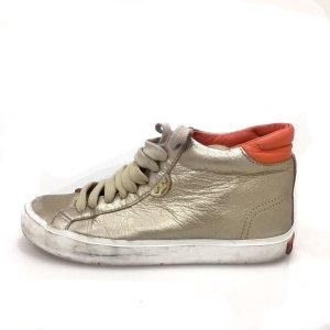 Gold Tory Burch Sneaker