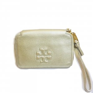 Gold Tory Burch Wallet