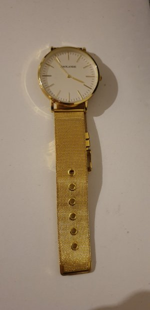 Watch gold-colored
