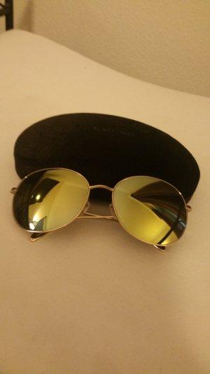 Gold verspiegelte Tom Ford Sonnenbrillen