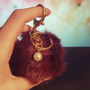 Zara Porte-clés doré-violet