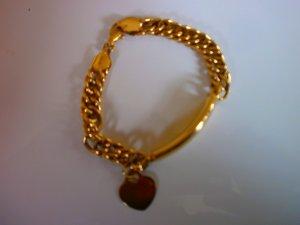 Goldarmband, 14 Karat