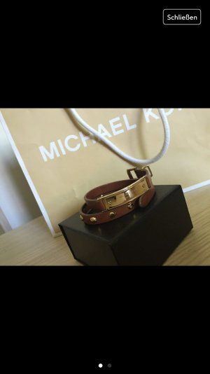 goldbraunes armband von michael kors