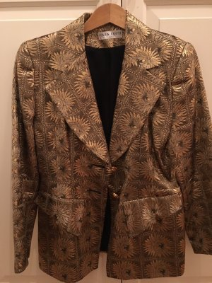 Goldbrokat Blazer Cara Lotti Paris