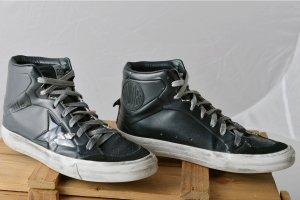GOLDEN GOOSE 37 Hightop Superstar 2.12 Schwarz used Leder Sneakers Skater